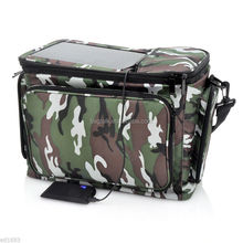 Hot Sell Double-Deck Solar Powered Cooler Bags Wholesale