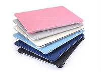 THREE folded functional leather tablet stand case for ipad quality ipad case