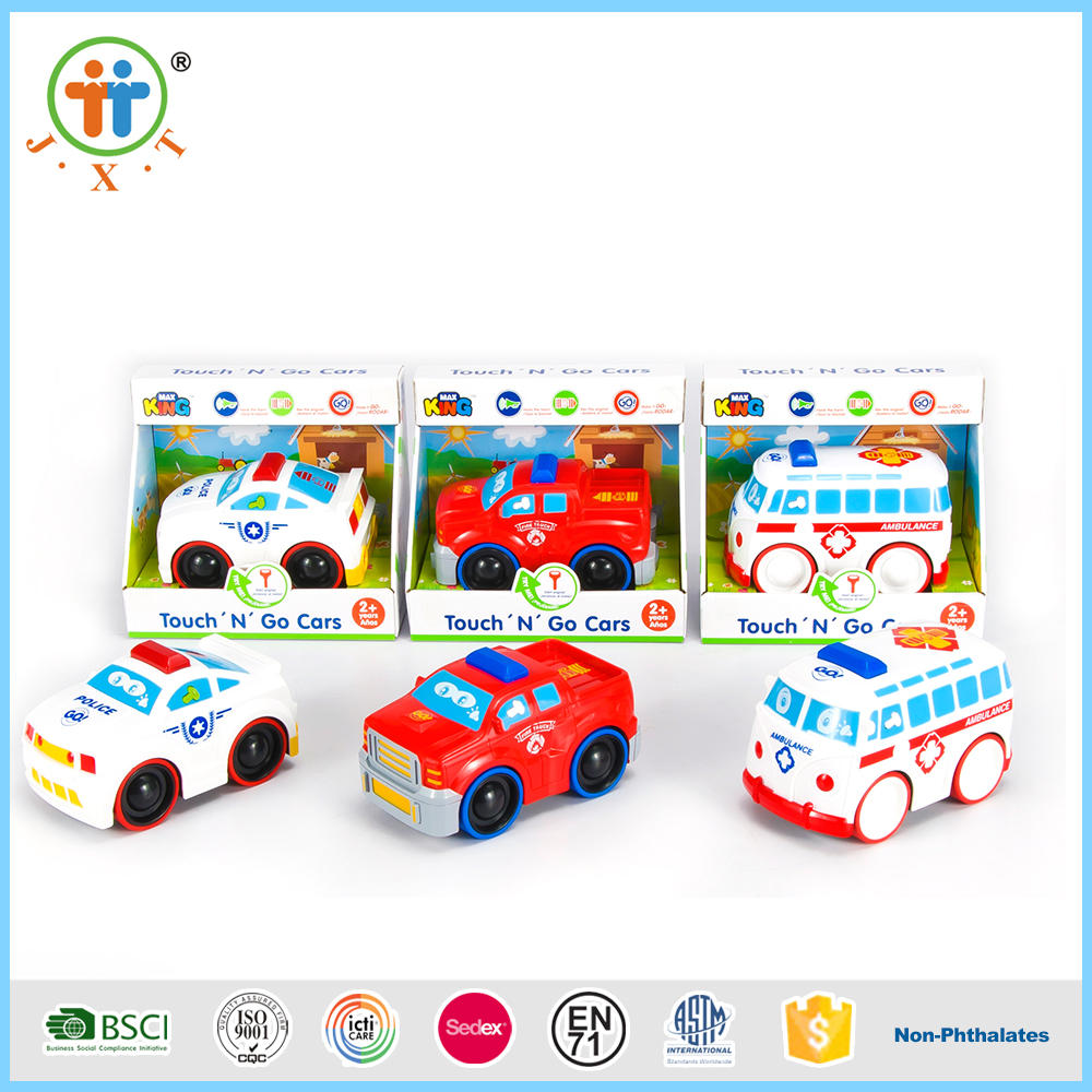 Factory wholesale electric cartoon plastic mini car toys for kids