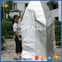 Cheap and high quality Silver Customized Size aluminum foil bag for packing seeds