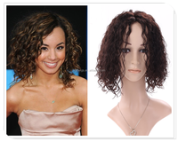 Fashion Short Hair Cuts Human Hair Wigs Curly Hair Extension For Black Women