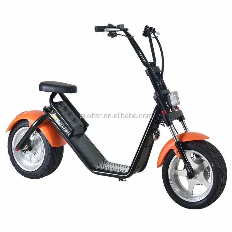 2017 new style electric citycoco scooter mobility motorcycle 1500W remove battery mobility