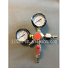 CO2 Pressure Regulator With 2 Gauges