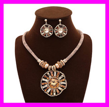 2016 New wholesale price ladies jewelry indian artificial necklace set HD3582