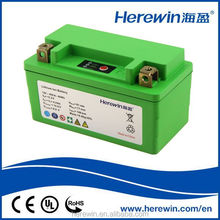 Wholesale 12V 4Ah Electric Bike Battery High Performance LiFepo4 Motorcycle Starting Power with LED Indicator