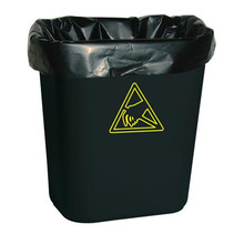 Cheap costomized HDPE/LDPE heavy duty plastic trash garbage bag bin liners