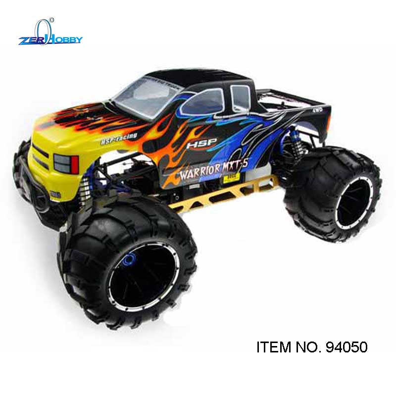 1/5th HSP Off Road Monster Truck 94050 Gasoline Power rtr