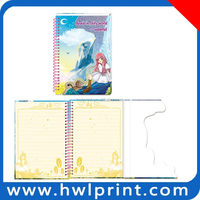 promotional spiral binding notebook note books for students