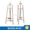 in stock 1.45 pine wood easel stand wholesale easel