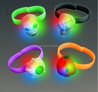Hottest Products On The Market Led Light Up Flashing Halloween Glowing Bracelet