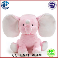 Cute Plush Colorful Elephant Soft Stuffed