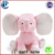 Wholesale Stuffed Soft Toy Pink Big Ear Elephant/Plush Big Ears Elephant Toy/big ear elephant