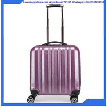 2016 Purple Color Travel Luggage Leather Luggage New Arrival Luggage Trolley Bags