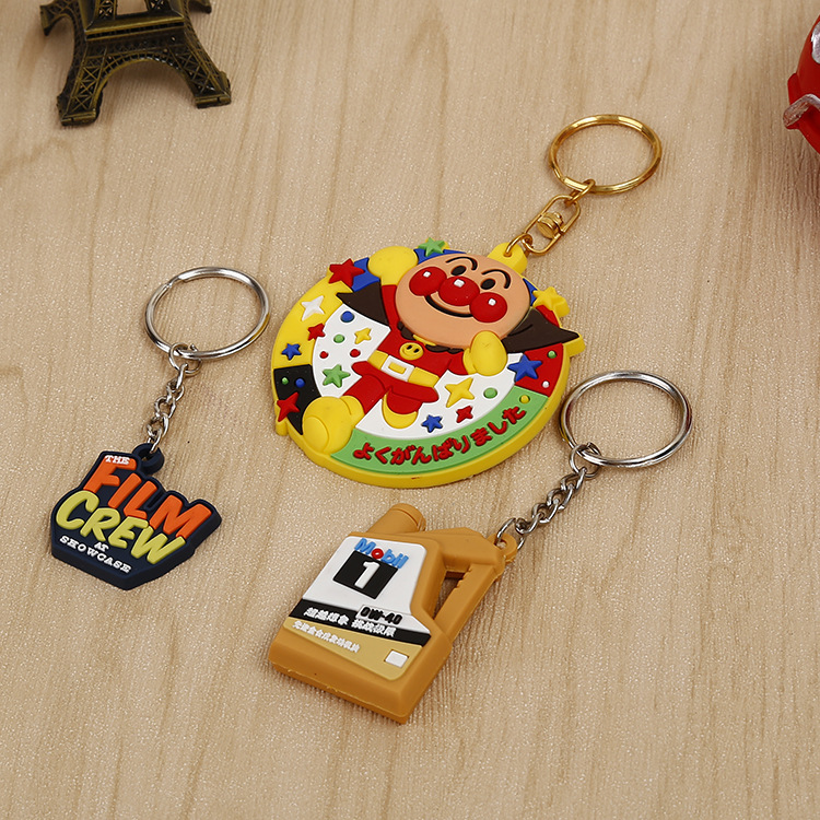 Promotion gifts 3D pvc keychain