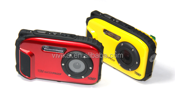 Manufacture waterproof digital camera ,sports digital camera 10m underwater camera