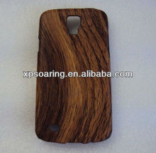 Cellphone wooden skin cover case for Samsung Galaxy S4 Active i9295