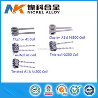 2016 Wholesale high tech clapton vape coil alien clapton coil/wire for rebuildable atomizer