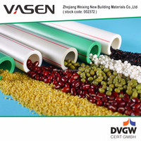 VASEN Good Quality SGS Certification green ppr water pipe