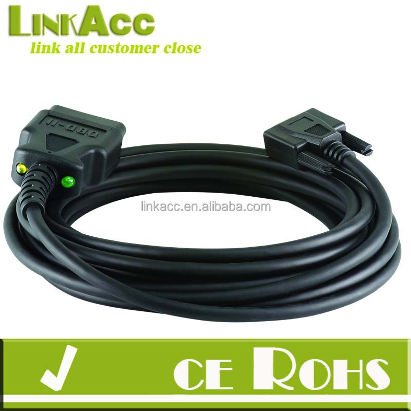 linkjc Cable J1962 MALE to DB9 MALE with LEDs