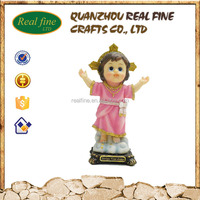 Wholesale Customized resin religious cute small Divino Nino Jesus for handmade polyresin crafts