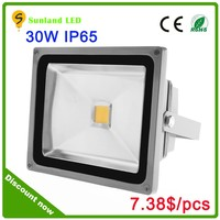 30w LED flood light IP65 outdoor LED flood light Aluminium alloy body with steel glass cover