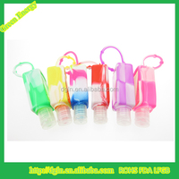 portable hand sanitizer gel silicone cover 30ml hand wash sanitizer holder