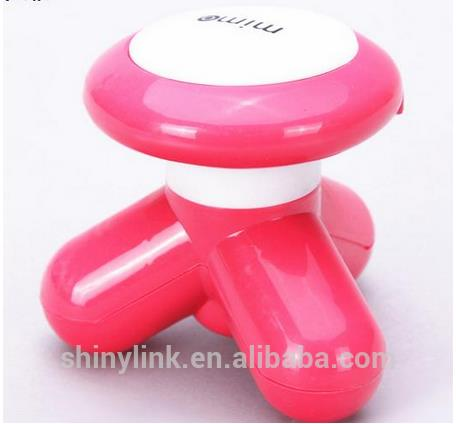 New on Market Usb electro mini triangle shape massager with factory price