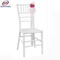 White Wedding Aluminum Chivari Chair