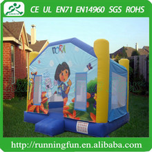 Commercial Inflatable Kids Bounce House, Indoor Inflatable Bouncer Amusement Park
