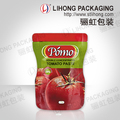 Special Shape Diecut Laminated Packing Bag for Food 70G Tomato Sauce