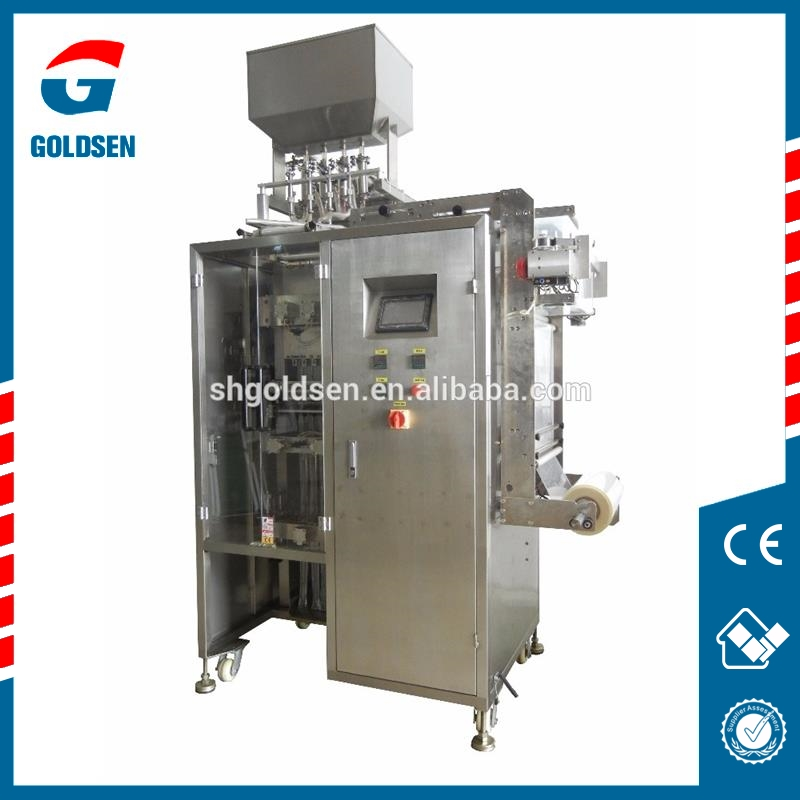 New design multi columns sachet packaging machine,kfc ketchup packaging machine.multi tracks paste packing machine