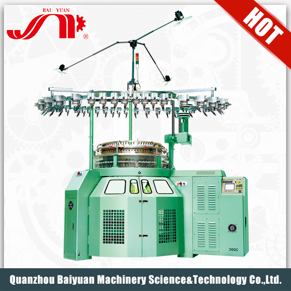 Great Design Automatic Single Weaving High Efficiency Many Types Fabric Circular Sweater Knitting Machine Price
