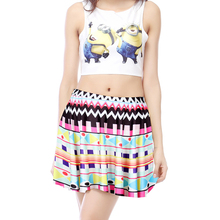 Low Price Summer Cool Colorful Mini umbrella skirt