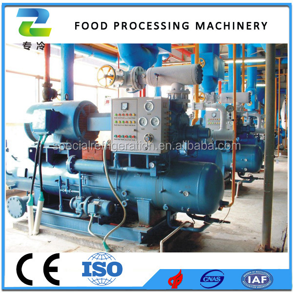 Ammonia Screw Compressor for Air Blast Freezer and Cold Storage Room