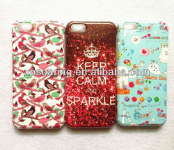 Mobile phone fancy tpu case cover for iphone 5C