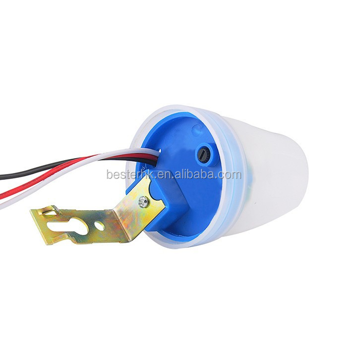 Automatic photoelectric street light switch,photocontrol sensor switch,light control switch BS020