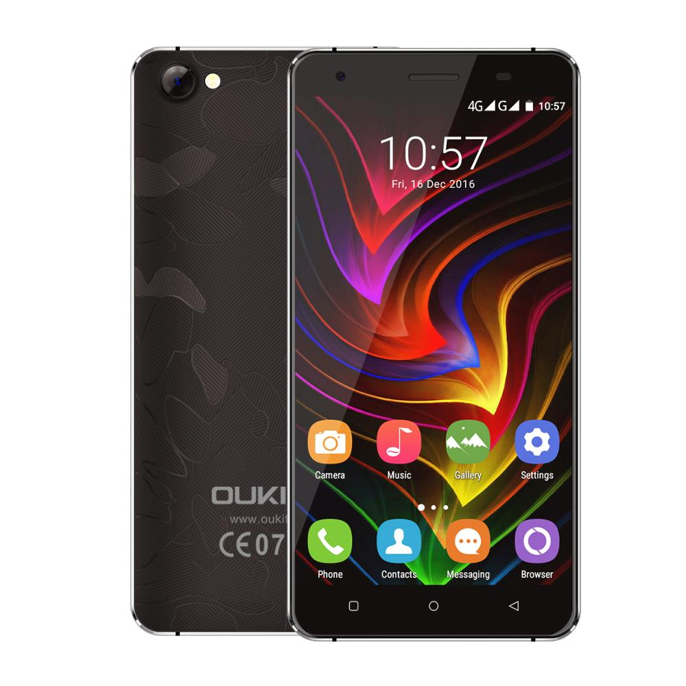 OUKITEL C5 Pro 4G 5.0 inch Smartphone Android 6.0 MTK6737 Quad Core Mobile phone