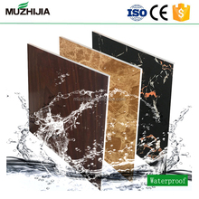 Hot selling UV coated PVC faux marble sheet interior wall decorative plastic panels