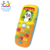 Huile 956 Happy Talker Play Phone china toy factory toy mobile phone with EN71
