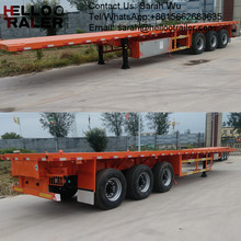 Good quality trailer factory sale directly 40T 40ft flatbed trailer frame
