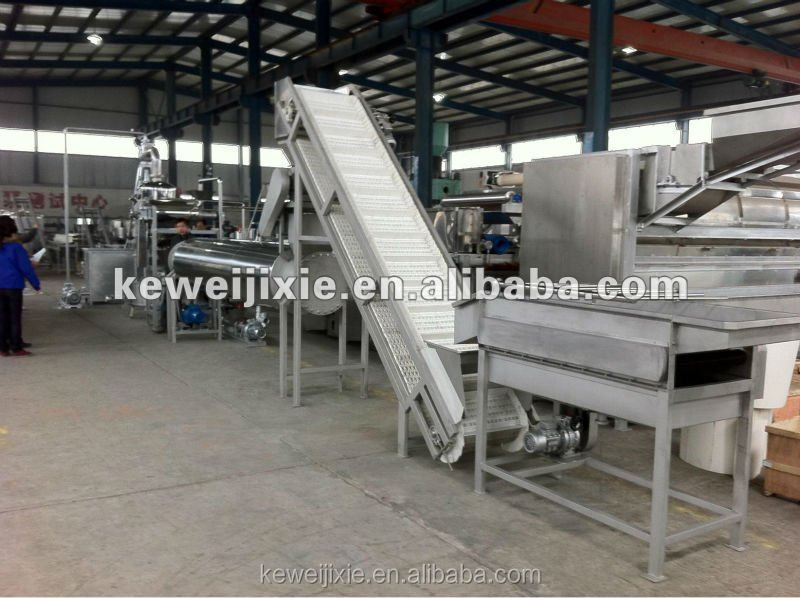 green apple sauce/jam processing production line