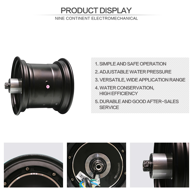 Hot sale fat tire electric bicycle motor wheel hub motor