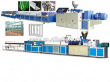 Plastic,pvc door window profile production line/pvc profile making machine/plastic door frame profile extrusion production line