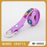 child cartoon elastic silicon fashion belt