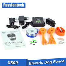 2 Dogs Waterproof Dog In-Ground Electronic Wireless Pet Fence Containment System NEW F-800