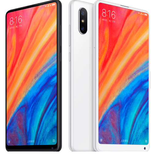 2018 New Original Xiaomi MI MIX 2S 6GB 64GB face recognition phone Qualcomm Snapdragon 845 Octa Core dual cameras 4g Smartphone