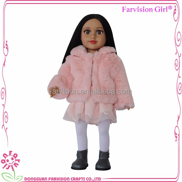 Wholesale 18 inch doll outfits Luxury american girl doll dress fashions