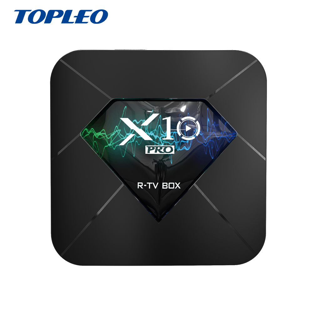 <strong>X10</strong> 2gb 16gb 2.4g <strong>wifi</strong> HEVC H.265 4K 60 Hz best cable stb android tv set top box