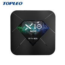 <strong>X10</strong> 2gb 16gb 2.4g wifi HEVC H.265 4K 60 Hz best cable stb android tv set top box