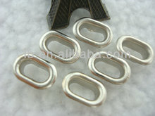 fashion small size oval eyelet grommet decorate metal eyelet